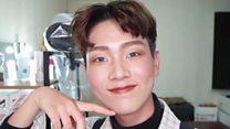 جنوبی کوریا میں نوجوان مرد میک اپ کے شوقین کیوں؟