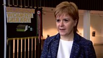 Sturgeon's hopes for young niece's generation
