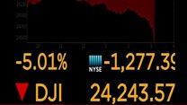 शेयर बाज़ार में हड़कंप