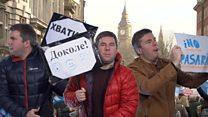#Londonблог: как устроить протесты по-британски