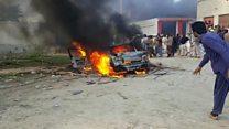 ډیره اسماعیل خان کې د پاکستاني طالبانو پر ضد لاریون