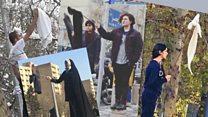 """""""Девушки с улицы Революции"""": как иранки срывают хиджабы"""