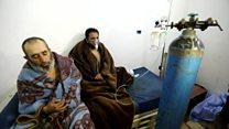 شبهه استفاده از سلاح شیمیایی در بمباران غوطه شرقی در سوریه