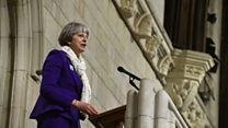 Theresa May on being a woman in politics