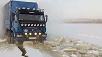 Ледяные дороги Якутии: как доставляют продукты в деревни?
