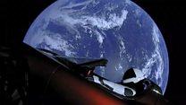 Спорткар, пирог, прах: что еще человечество отправило в космос?