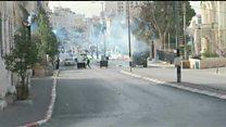 درگیری بین فلسطینیان و نیروهای اسرائیل