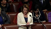 Congresswoman makes record-breaking speech