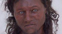 สร้างหน้าจากโครงกระดูก มนุษย์โบราณในอังกฤษผิวคล้ำ ตาฟ้า