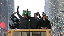 Philadelphia celebrates first Super Bowl win