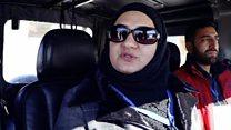 کشمیر کی پہلی آف روڈ کار ریسر خاتون