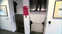The lift in continuous motion