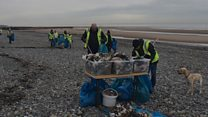 How much beach litter can you collect in 90 minutes?