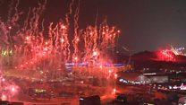 ပြုံးချမ်းဆောင်းရာသီ အိုလံပစ် စတင်ဖွင့်လှစ်