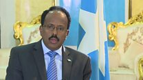 Somali president: 'We're ready to fight back against al-Shabab'