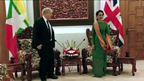 Johnson meets Suu Kyi for Rohingya talks