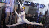 Танцы в воздухе: акробатика в аэротрубе