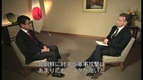 北朝鮮のほほ笑み外交は制裁の効果 河野外相、BBCに