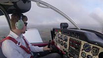Pilot says his life would be empty without flying