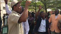 Union dey protest NHIS oga wey Buhari recall
