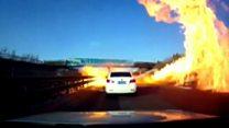 Пекельний вогонь: бензовоз залив автотрасу пальним
