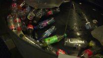प्लास्टिकका बोतल संकलन