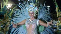 Британка стала звездой карнавала в Рио