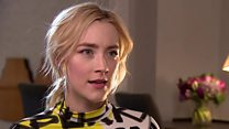 Saoirse Ronan on being Lady Bird