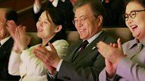 दोनो कोरिया के बीच बढ़ती दोस्ती