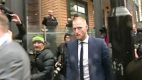 Ben Stokes appeared at Bristol Magistrates Court