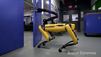 The robot that can enter your house
