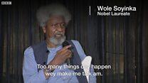 'Nigeria response to di kill-kill no dey good enough' - Wole Soyinka
