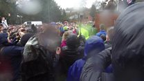 Day one at Royal Shrovetide Football