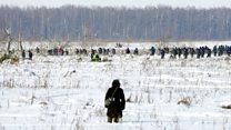 Russia jet crash: Recovery underway