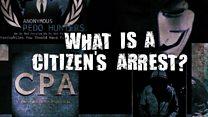 What is a citizen's arrest?