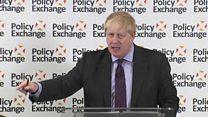 Johnson's 'positive agenda' on Brexit