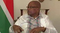 """Jacob Zuma: """"aucune raison pour me pousser vers la sortie"""""""