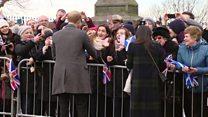 Prince Harry and Meghan Markle make first Scottish visit