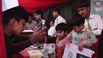 تھرپارکر کے شہر میٹھی میں بچوں کا سائنسی میلہ
