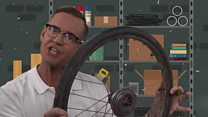 Million dollar idea: The pneumatic tyre