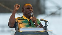 Cyril Ramaphosa: The long road to power