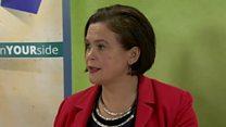 Mary Lou McDonald: 'draft agreement included an Irish Language Act'