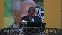 سریل راماپوزا، رئیس جمهورجدید آفریقای جنوبی شد