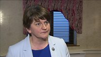 DUP leader could 'not recommend what was on the table'