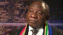 Madaxweyne Ramaphosa ma mideeyn doona xisbiga kala qeybsamay ee ANC?