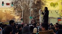 حجاب اجباری؛ فریاد استقلال اعظم جنگروی در تقاطع انقلاب