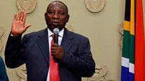 Bi Ramaphosa di aarẹ South Africa