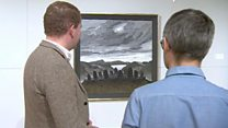 How Kyffin Williams painted landscapes