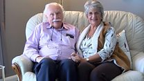 'Our love story 70 years in the making'