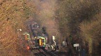 Community shock over train crash deaths